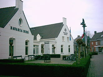 Bavaria Brewery (Netherlands) - Reception area and cafe at Lieshout