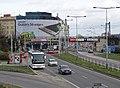 Bubenské nábřeží, z rampy na předmostí Hlávkova mostu (01).jpg