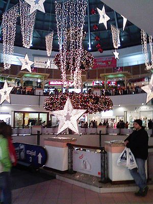 București Mall - Image: Bucharest mall photo by dan 69en