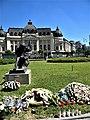 Bucuresti, Romania. Funerariile Reginei Ana, Principesa de Bourbon-Parma. BIBLIOTECA CENTRALA UNIVERSITARA.(B-II-m-B-18598)(2).jpg