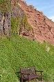 Budleigh Salterton cliffs - geograph.org.uk - 1140405.jpg