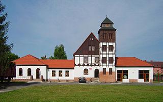 Węgliniec Place in Lower Silesian Voivodeship, Poland