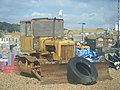 Bulldozer on the beach - geograph.org.uk - 1563958.jpg