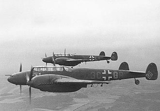 Messerschmitt Bf 110 - Bf 110s in France in 1942