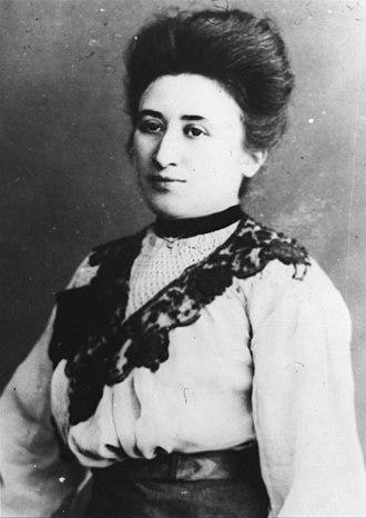 Rosa Luxemburg - Luxemburg in 1915
