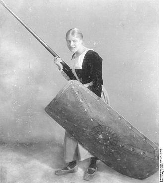 Das Käthchen von Heilbronn - Lucie Höflich in Das Käthchen von Heilbronn, 1905, Deutsches Theater, Berlin