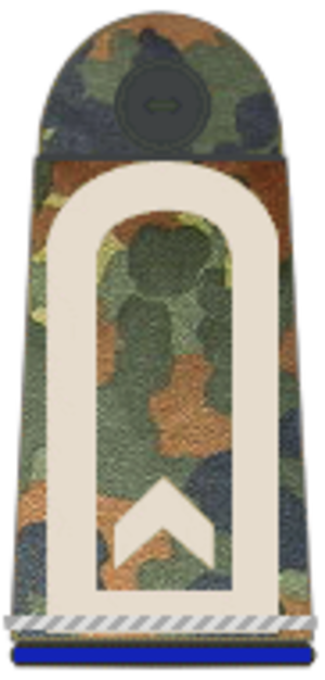 Ensign (rank) - German Army and Air Force rank insignia