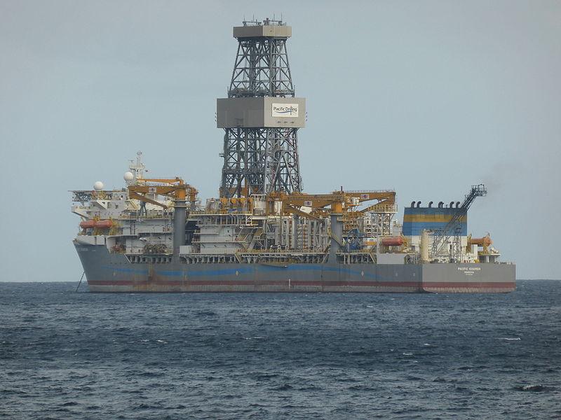 File:Buque de perforación (Drill Ship) PACIFIC KHAMSIN, año 2013, fondeado en Tenerife.JPG