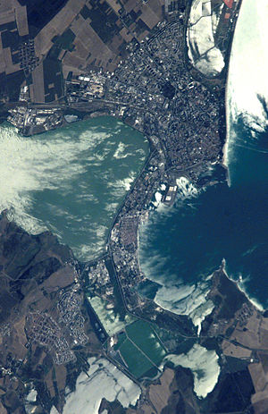 Burgas - Burgas as seen from space