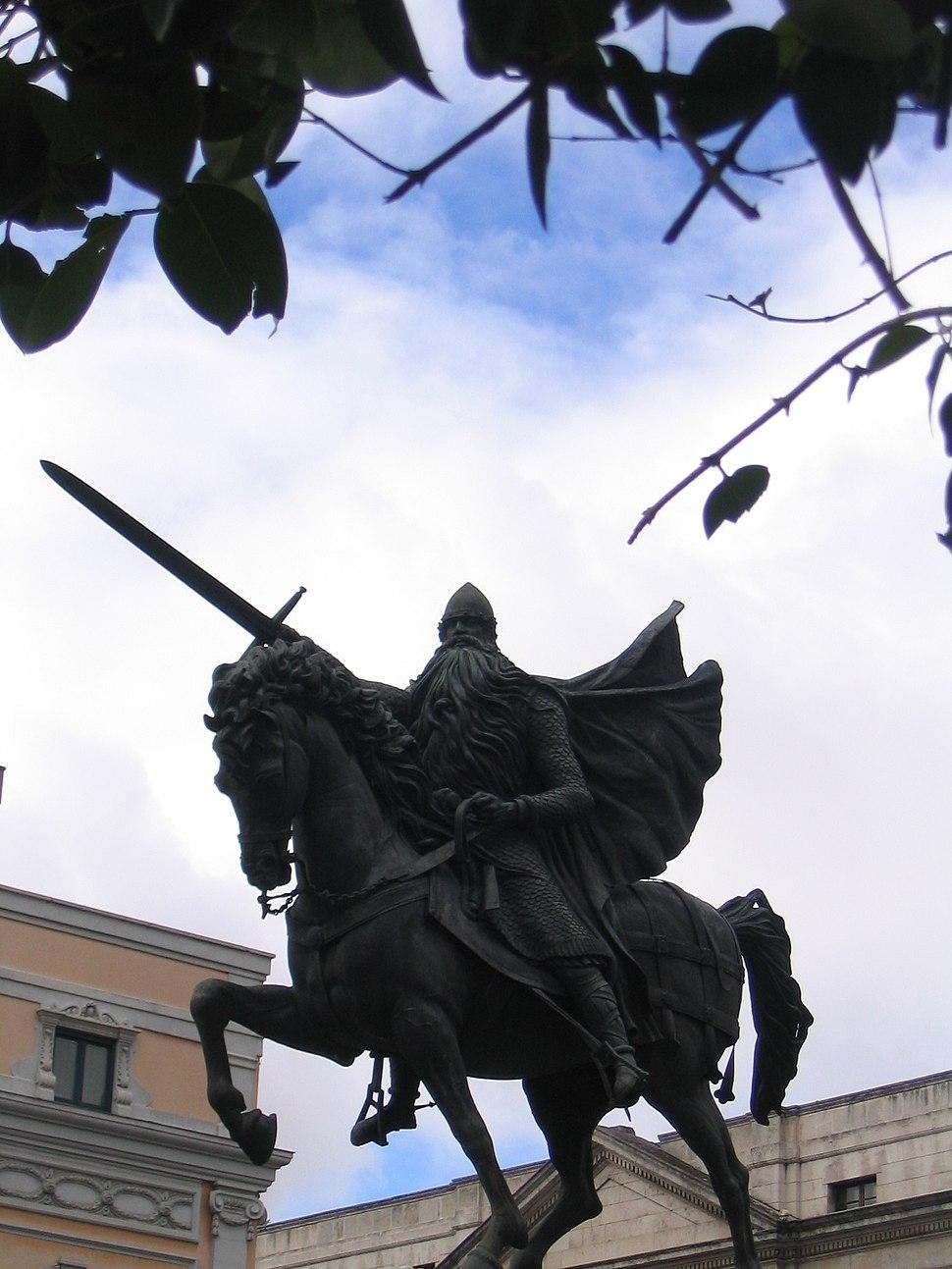 Burgos-Estatua del Cid