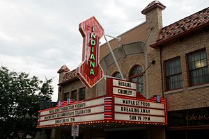 Bloomington, Indiana - Buskirk-Chumley Theater in downtown Bloomington.