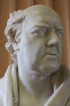 George Baird (minister) - Bust of George Husband Baird, c.1830, Old College, University of Edinburgh