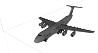 C-5 Galaxy SketchUp model.png