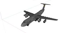 C-5 Galaxy SketchUp model.png