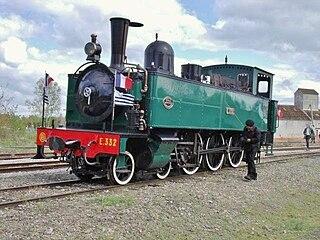 Réseau Breton 4-6-0 tank locomotives class of 12 French metre-gauge 4-6-0T locomotives