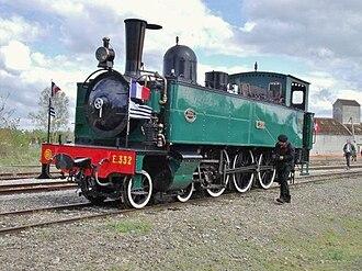 Réseau Breton 4-6-0 tank locomotives - E 332 as preserved.