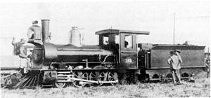 CGR 1st Class 2-6-0 1876 Kitson - Image: CGR 1st Class 2 6 0 1876 Kitson