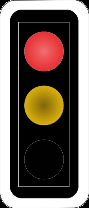 Road signs in Switzerland and Liechtenstein - Image: CH SSV Lichtsignal Art 68 Red Yellow