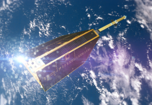 CHAMP (satellite) - Artist's impression of CHAMP