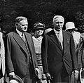CH Huston w-President Hoover.jpg
