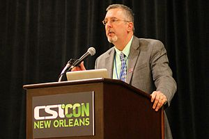 Barry Karr - Barry Karr, Executive Director of the Committee for Skeptical Inquiry, at CSICon 2011 in New Orleans.