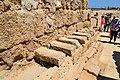 Caesarea - King Herod's Hippodrome - toilet (2) (37315732125).jpg
