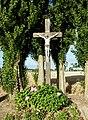 Campagne-lez-Wardrecques (Pas-de-Calais) croix de chemin, rue Principale.JPG