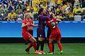 Canadá vence o Brasil no futebol feminino, na Rio 2016 (28807776070).jpg