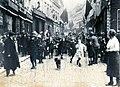 Canadian Black Watch entering into Mons, Belgium (1918).jpg