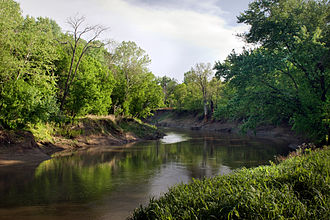 Bartlesville, Oklahoma - Caney River