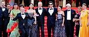 L'équipe du film au festival de Cannes 2018.