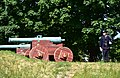 Cannon, Akershus Fortress, Oslo (1) (36465589445).jpg
