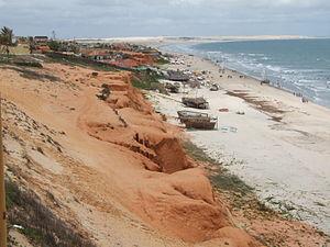Mossoró - Image: Canoa Quebrada 7