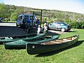 Canoes Loading - geograph.org.uk - 413154.jpg