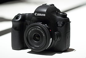 image illustrative de l'article Canon EOS 6D