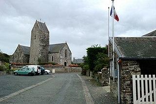 Canville-la-Rocque Commune in Normandy, France