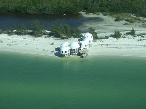 Cape Romano - Aerial shot of Cape Romano.