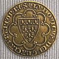 Capetingi, luigi IX, scudo d'oro, 1270 ca..JPG