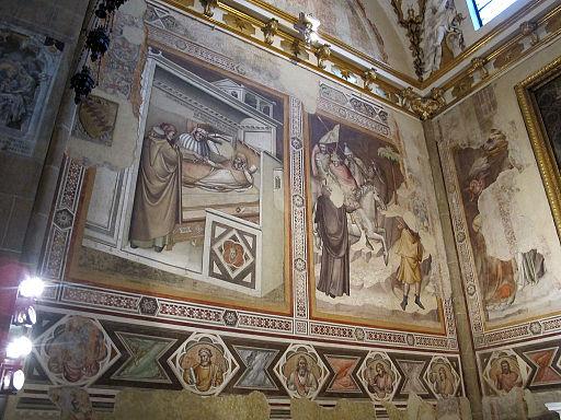 Cappella bardi di smn, affreschi di pseudo dalmasio 03