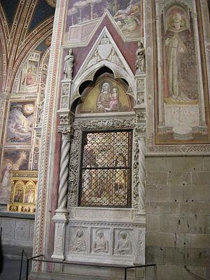 Baroncelli Chapel - Baroncelli family tomb.