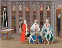 Carl Fredrik Svan - The Stenbock family in their library at Rånäs - Google Art Project.jpg