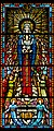 Carl Huneke's stained glass window - Our Lady of Angels at Our Lady of Angels Church in Burlingame, CA.jpg