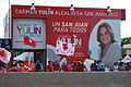 Carmen Yulin Cruz campaign headquarters in San Juan, Puerto Rico.JPG