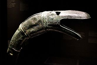 Carnyx - The serpent head from Tintignac