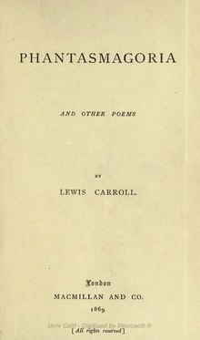 Carroll - Phantasmagoria and other poems (1869).djvu
