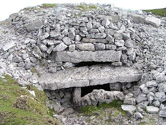 Carrowkeel Megalithic Cemetery - Image: Carrowkeel Cairn G