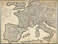 Carte de l'Empire Français Divisé en 133 Départemens (Bonissel, 1811).jpg