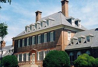 Grove, Virginia - Carter's Grove Mansion