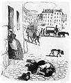 Cartoon by Grandville; Cholera Wellcome M0001072.jpg