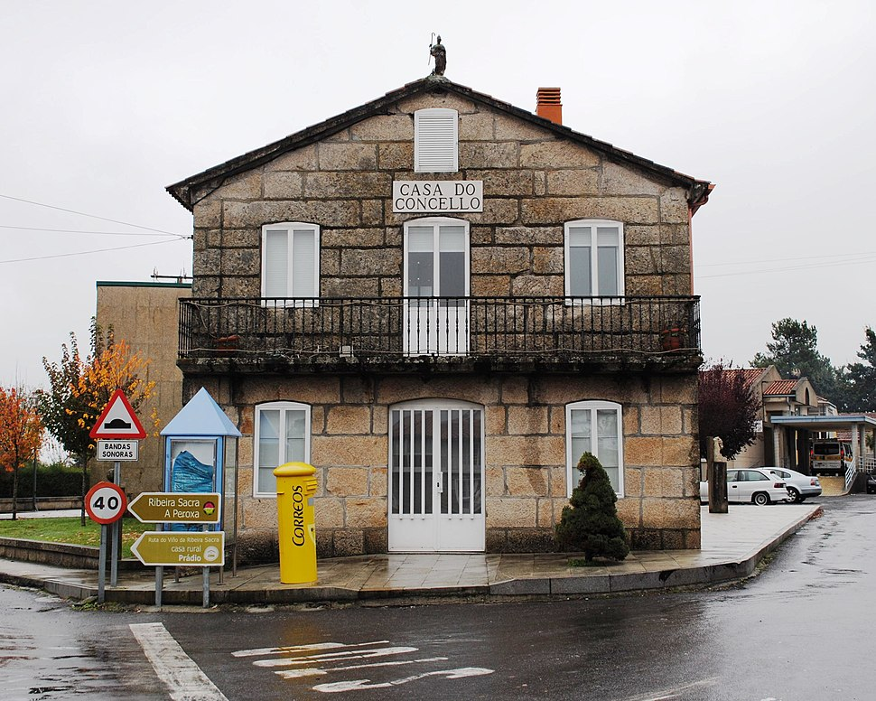 Casa do Concello de Coles